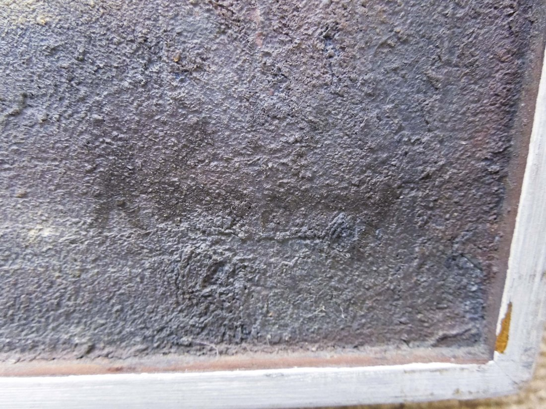 Pawel Kontny Oil on Board, Spanish Landscape. - 2