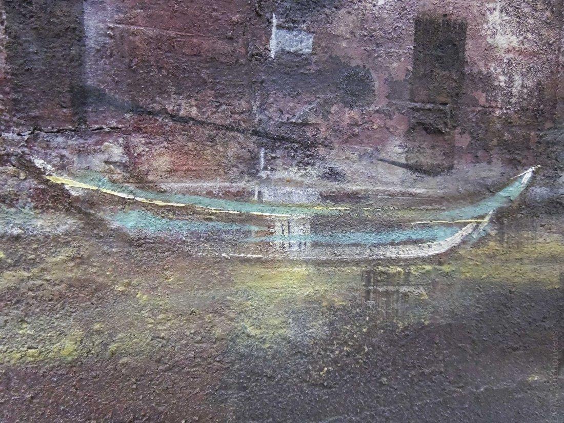Pawel Kontny Oil on Board, Spanish Landscape. - 3
