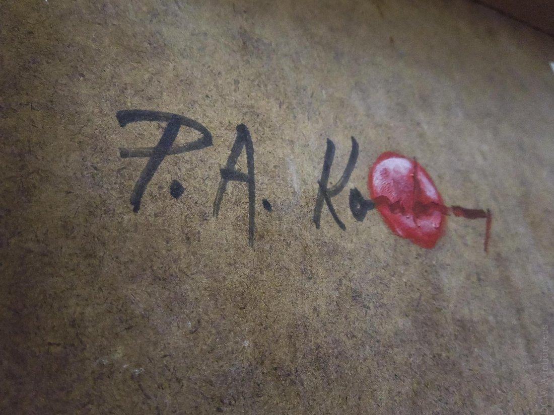Pawel Kontny Oil on Board, Spanish Landscape. - 6