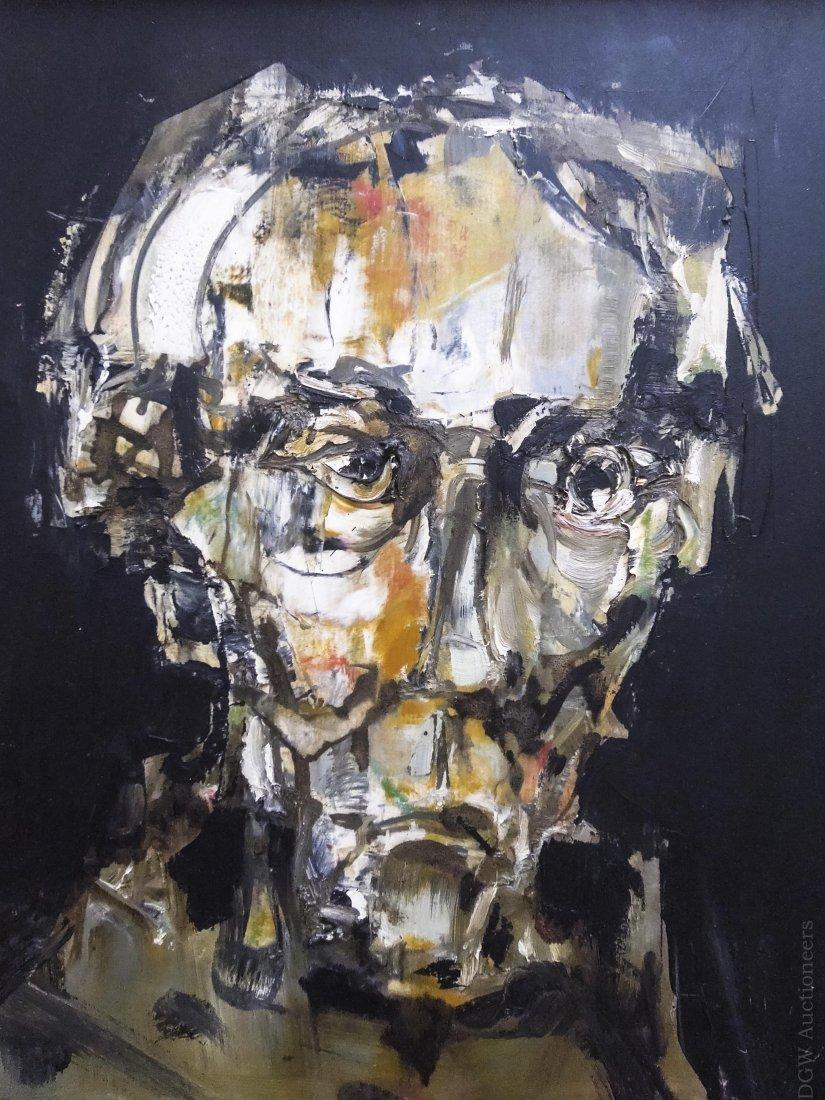 Pawel Kontny Oil on Board, Dr. Gestacker. - 3