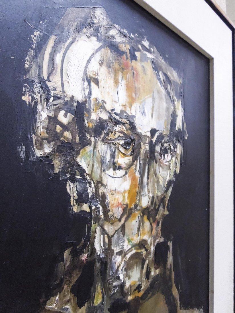 Pawel Kontny Oil on Board, Dr. Gestacker. - 4