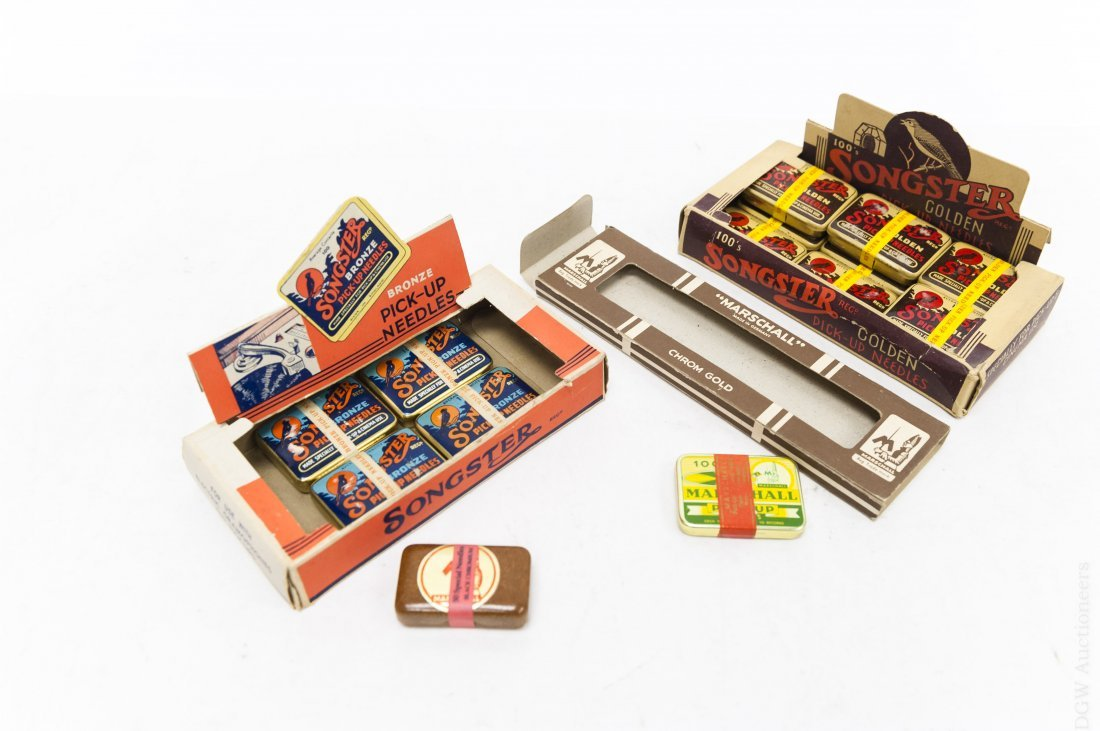 (40) Vintage Gramophone Needle Tins. - 5