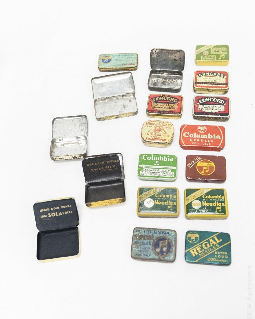 (40) Vintage Gramophone Needle Tins. - 2