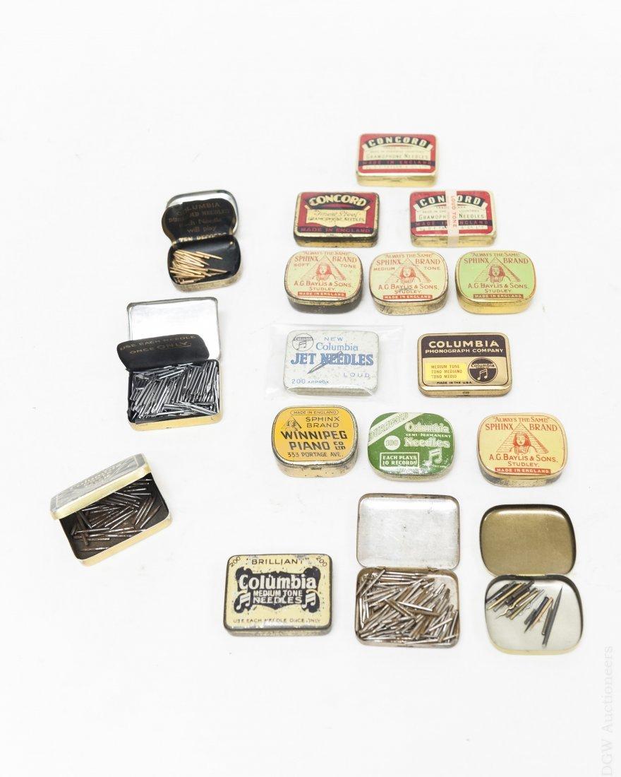 (40) Vintage Gramophone Needle Tins. - 3