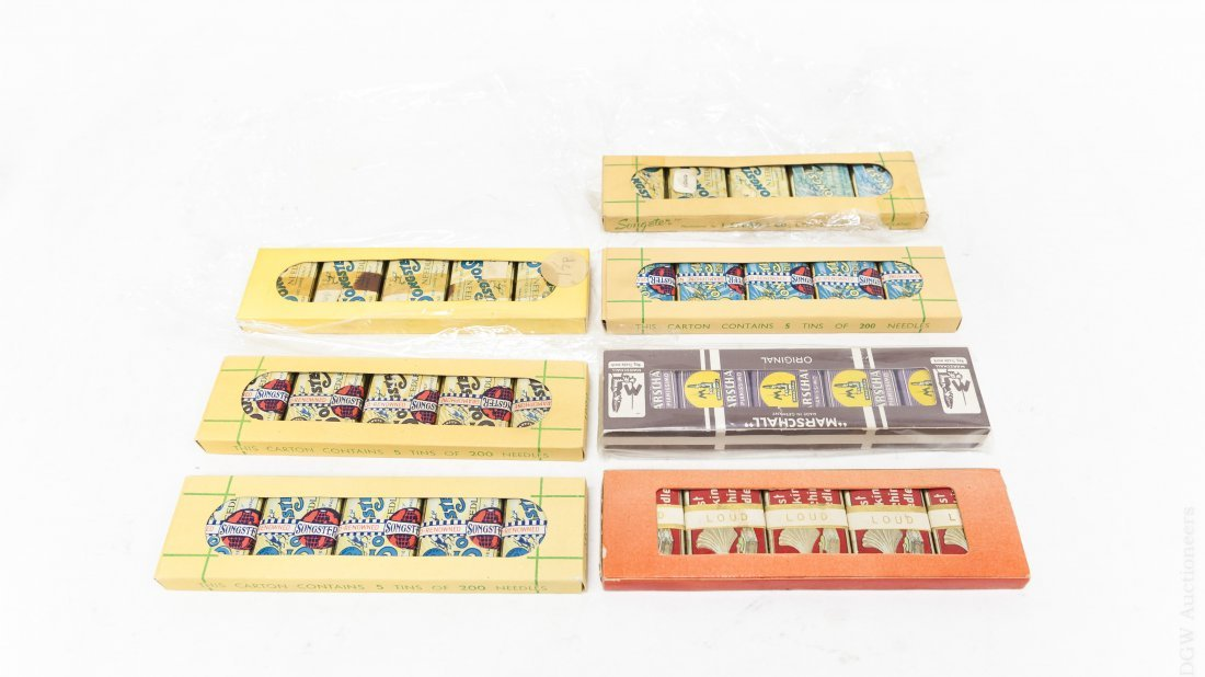 (7) Needle Tin Packs with 35 Needle Tins.