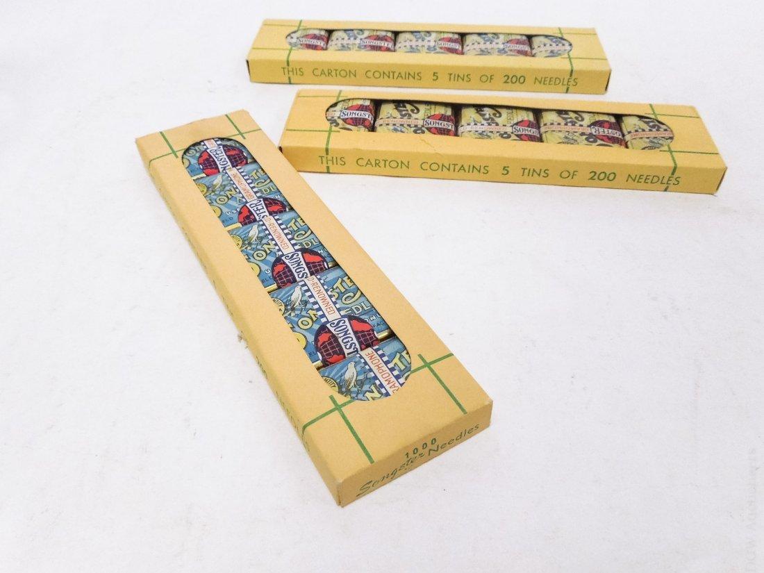 (7) Needle Tin Packs with 35 Needle Tins. - 5