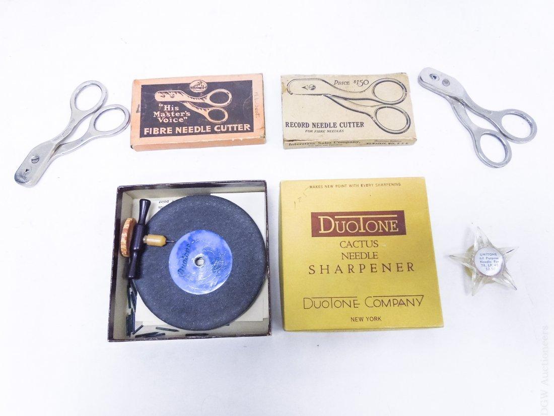 Group of Vintage Gramophone Accessories. - 3