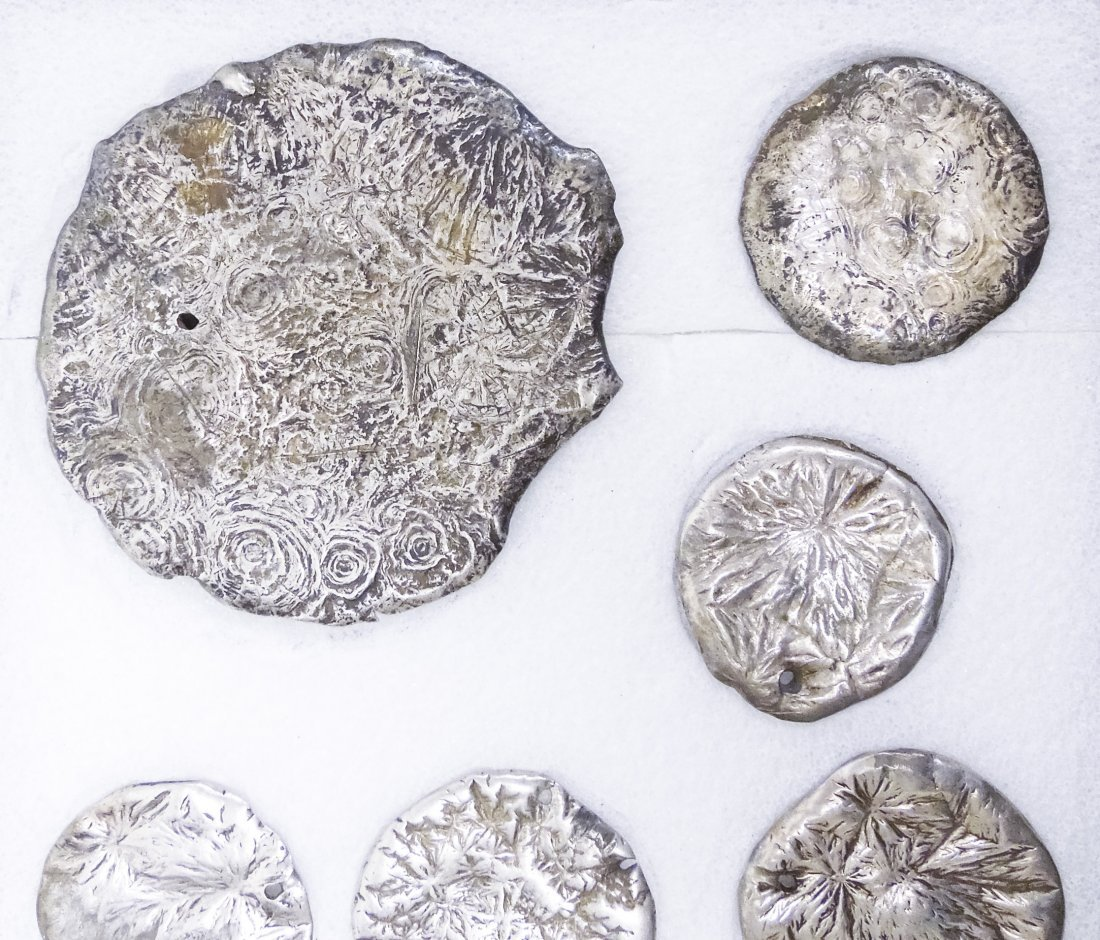 Group of Chinese Silver Ingots and Objects. - 6