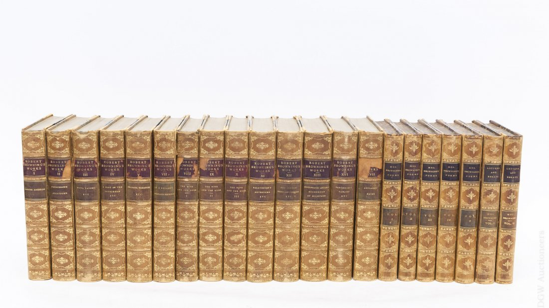 (2) Sets of Antiquarian Books.