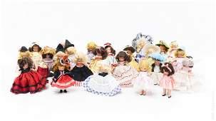 (24) Vintage Nancy Ann Storybook Dolls.
