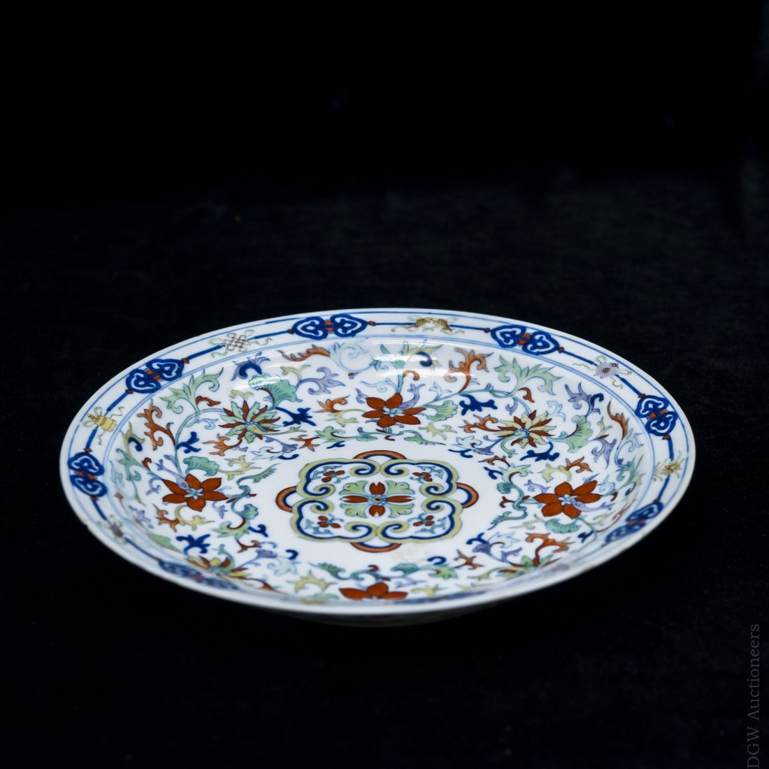 Chinese Porcelain Plate, possibly 18th C.
