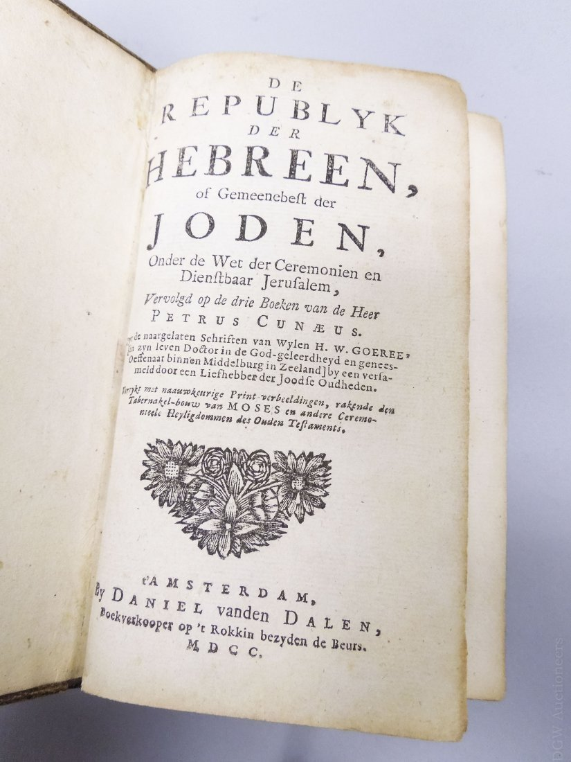 One Volume from the 1700s, Sequel to the 3 Books of the - 2