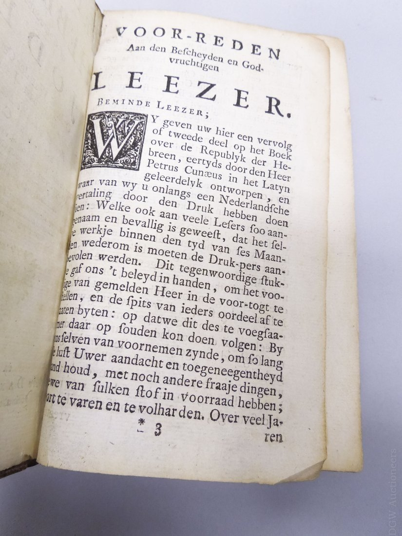 One Volume from the 1700s, Sequel to the 3 Books of the - 3