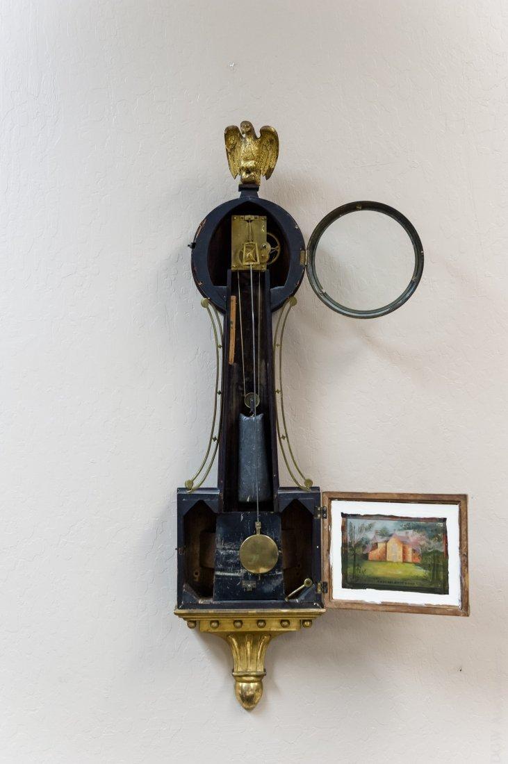 Federal Mahogany Banjo Clock. - 2