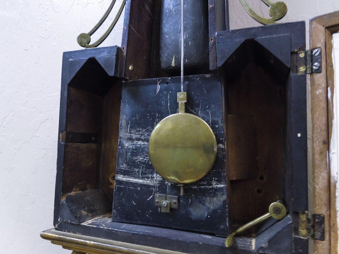 Federal Mahogany Banjo Clock. - 3