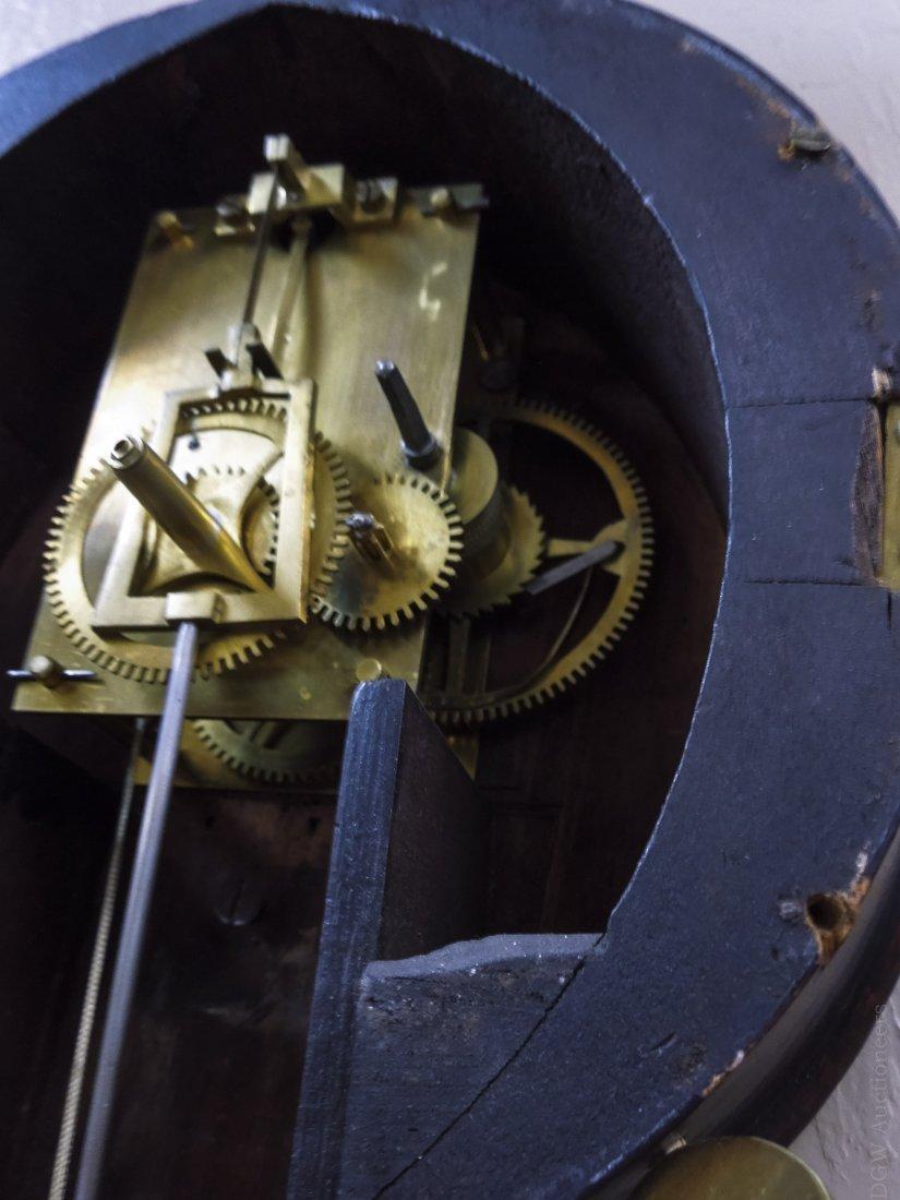 Federal Mahogany Banjo Clock. - 6