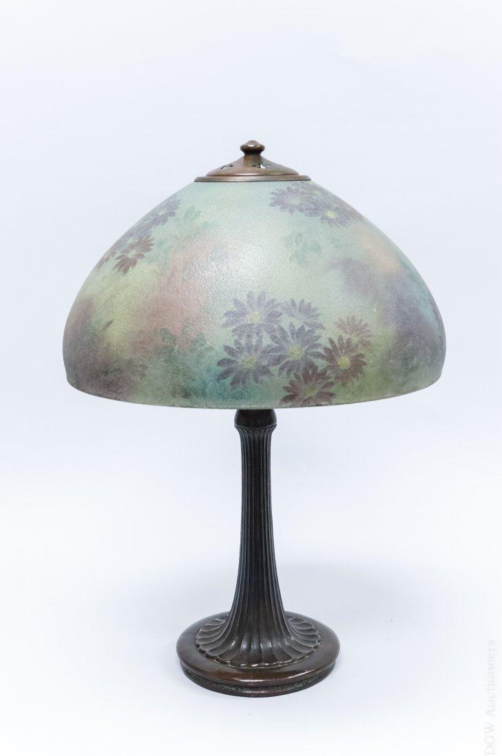 Handel Bronze Table Lamp.