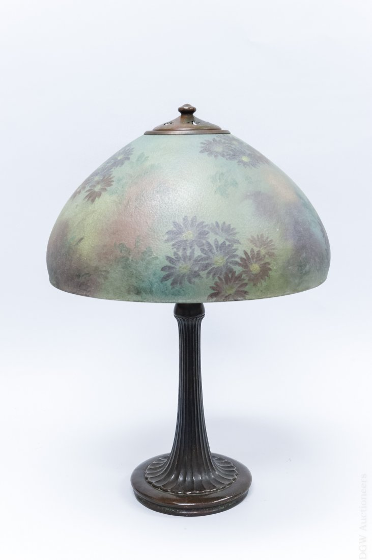 Handel Bronze Table Lamp.