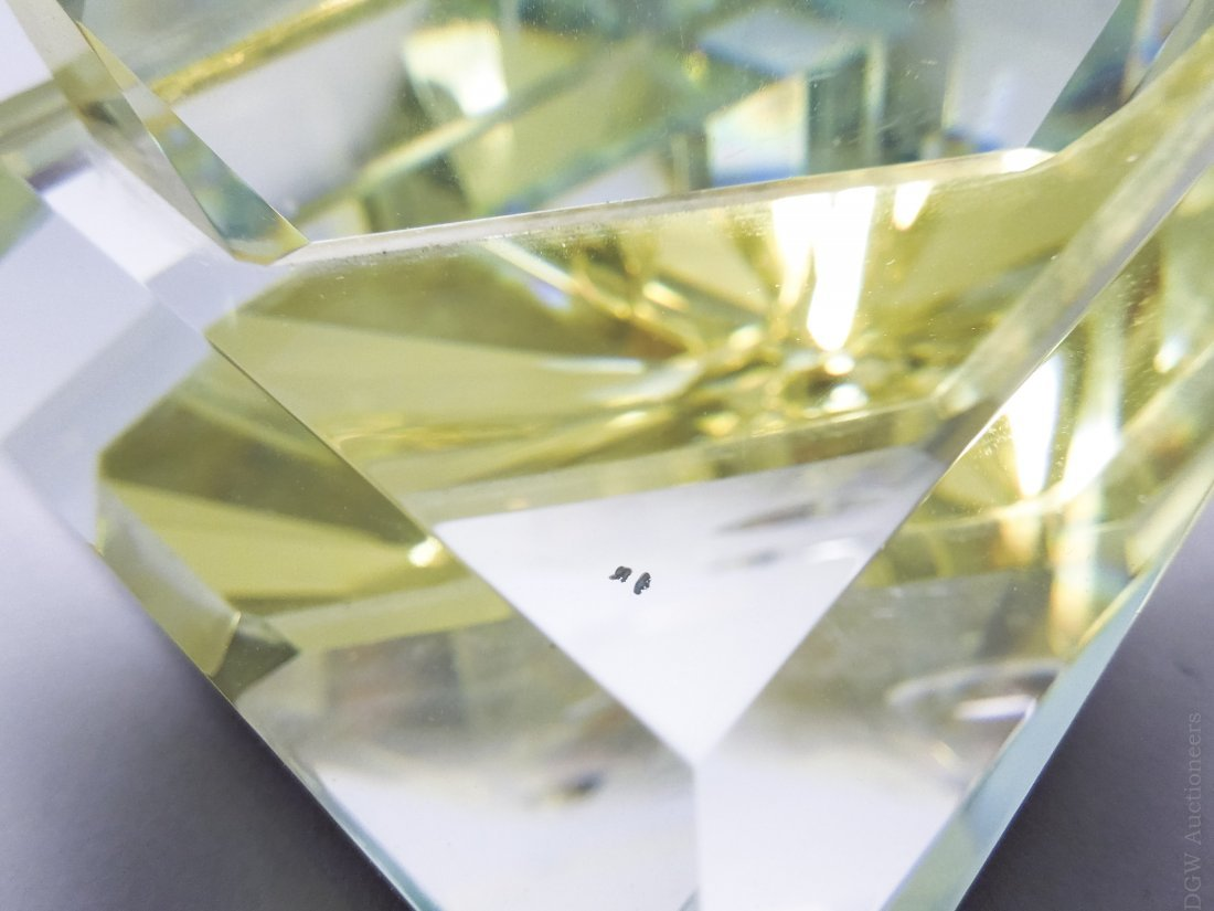 (2) Art Glass Helio Geometric Sculptures. - 3