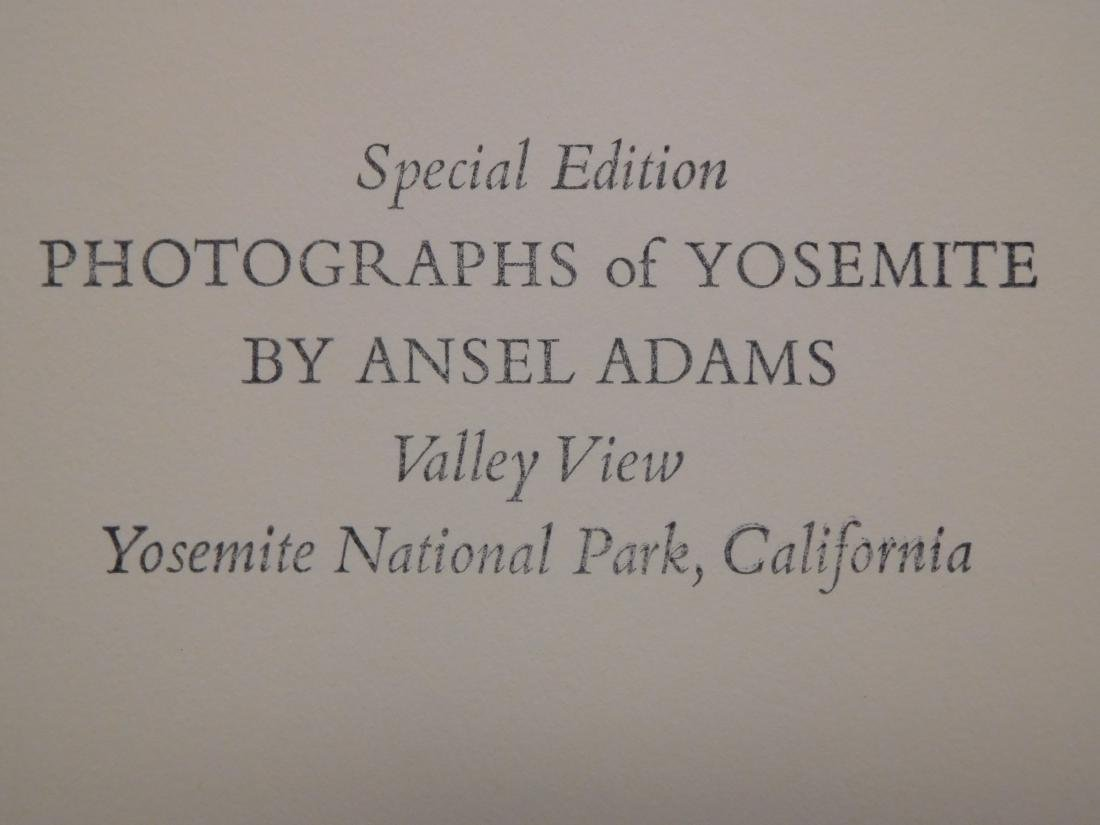 Ansel Adams Special Edition  Photograph. - 2