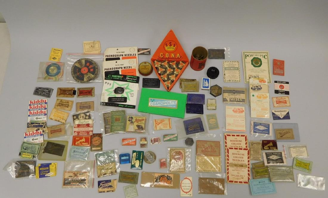 Collection of Vintage Gramophone Needle Packets.