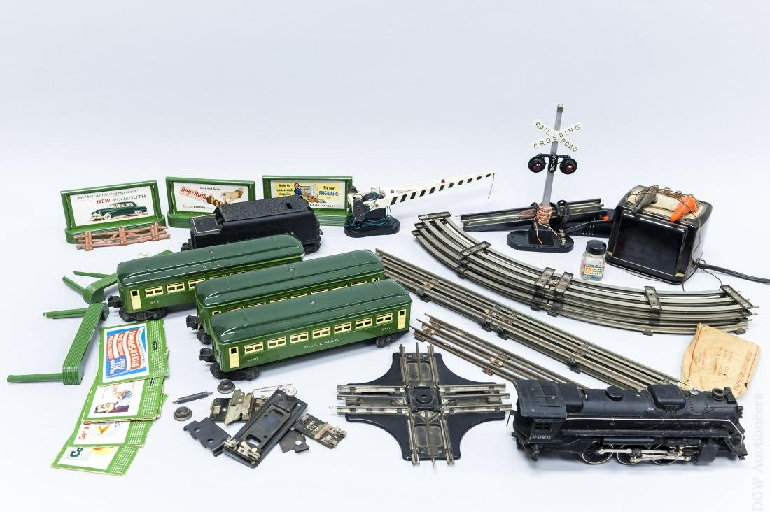 Group of Lionel Train Cars & Accessories.