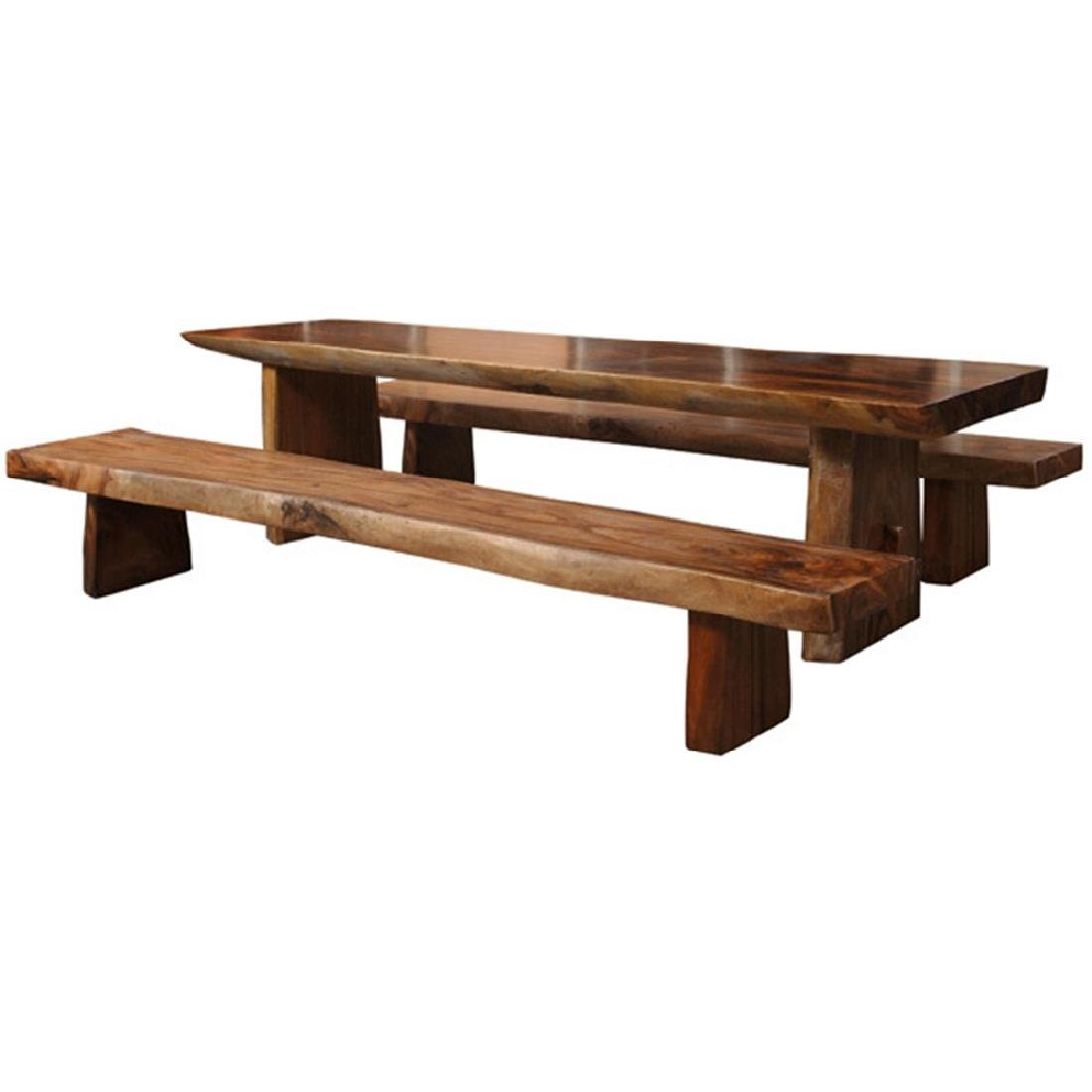 Teak Dining Set of 3
