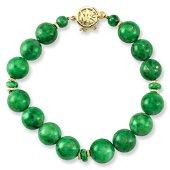 Natural Green Jade Bracelet