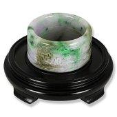 One Of A Kind  Carved Green & Lavender Jadeite Jade