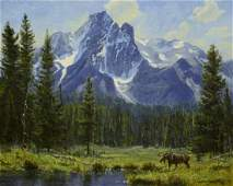Morans Moose ~ Robert Peters