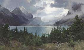 Afternoon at Saint Mary Lake ~ Phillip Philbeck