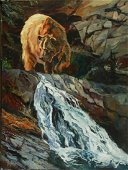 Above the Falls ~ Terry Lee