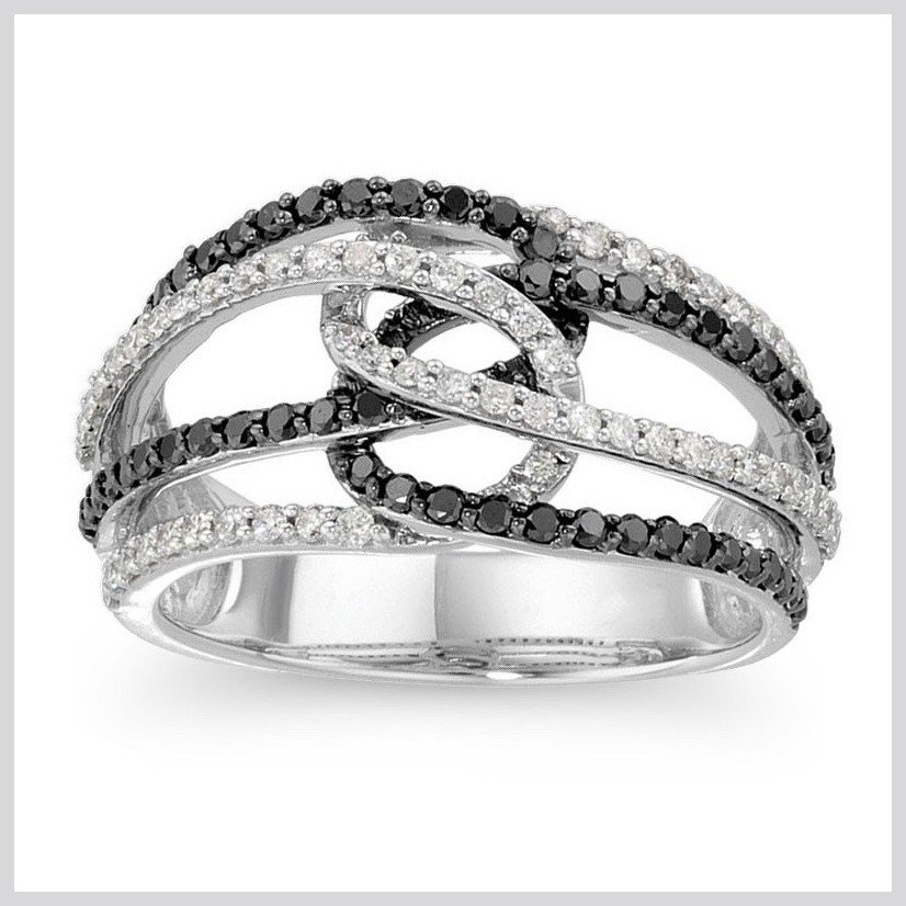1Z: BLACK AND WHITE DIAMOND BAND