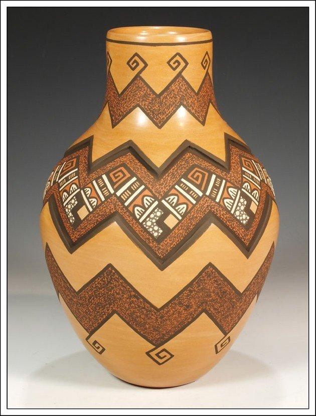 1P: Jemez Pueblo Hand Coiled Pottery