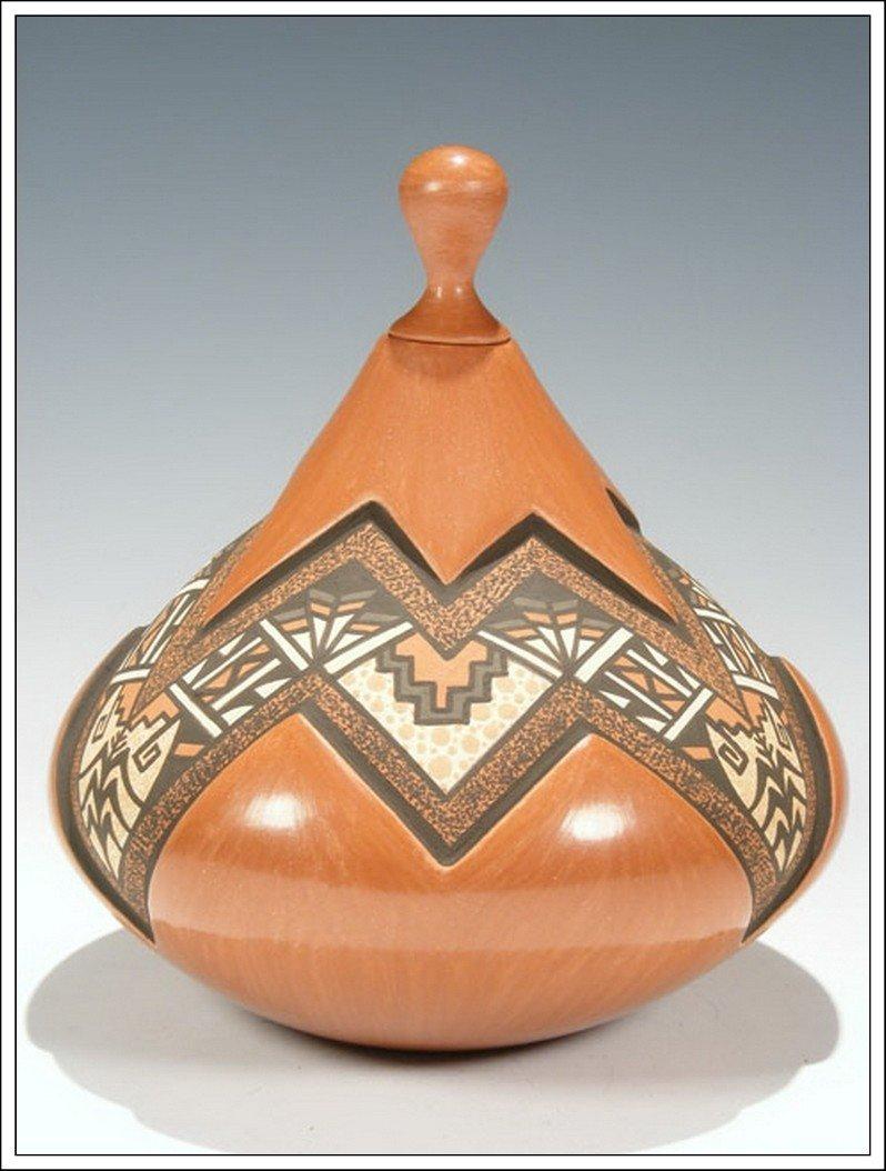 8P: Jemez Pueblo Hand Coiled Pottery