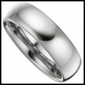 9F: High Polished Domed Tungsten 6mm