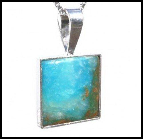 133F: Peruvian Opal Pendant