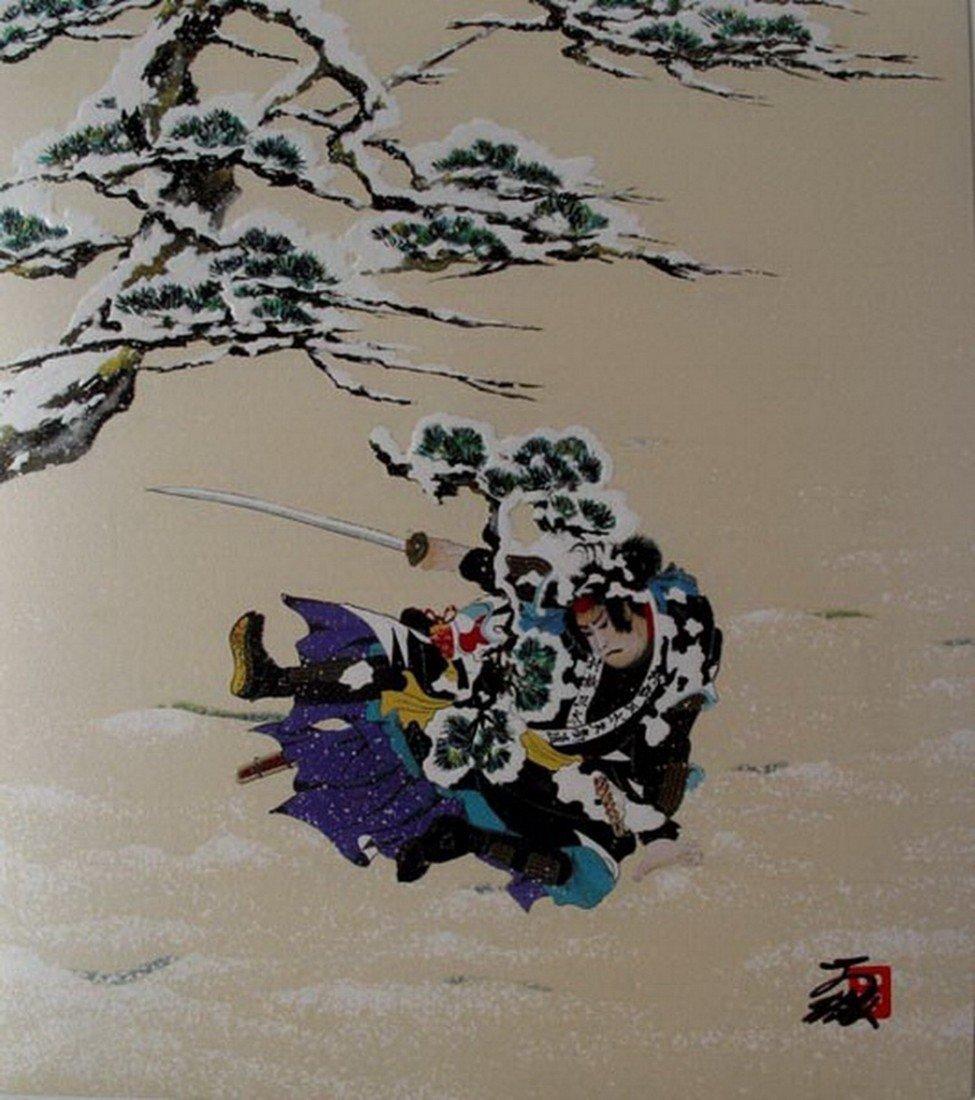 4T: HISASHI OTSUKA SEASON OF BUSHIDO HAND SIGNED LIMITE