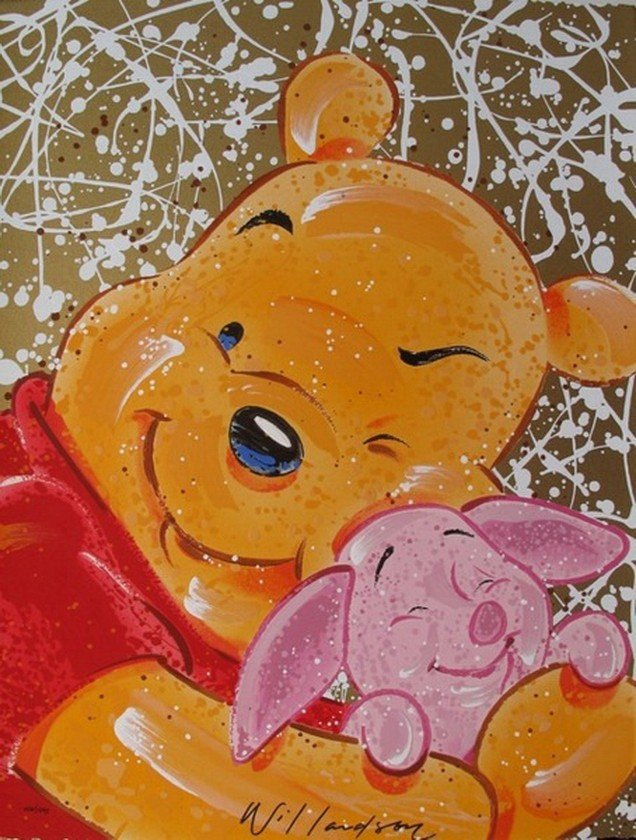 939S: DAVID WILLARDSON WINNIE THE POOH, VERY IMPORTANT