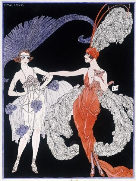 "1G: GEORGES BARBIER""THE PURCHASE"""