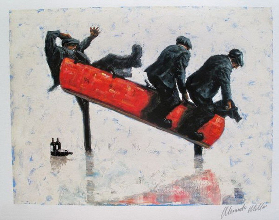 89T: ALEXANDER MILLAR COWBOYS HAND SIGNED LIMITED ED. G