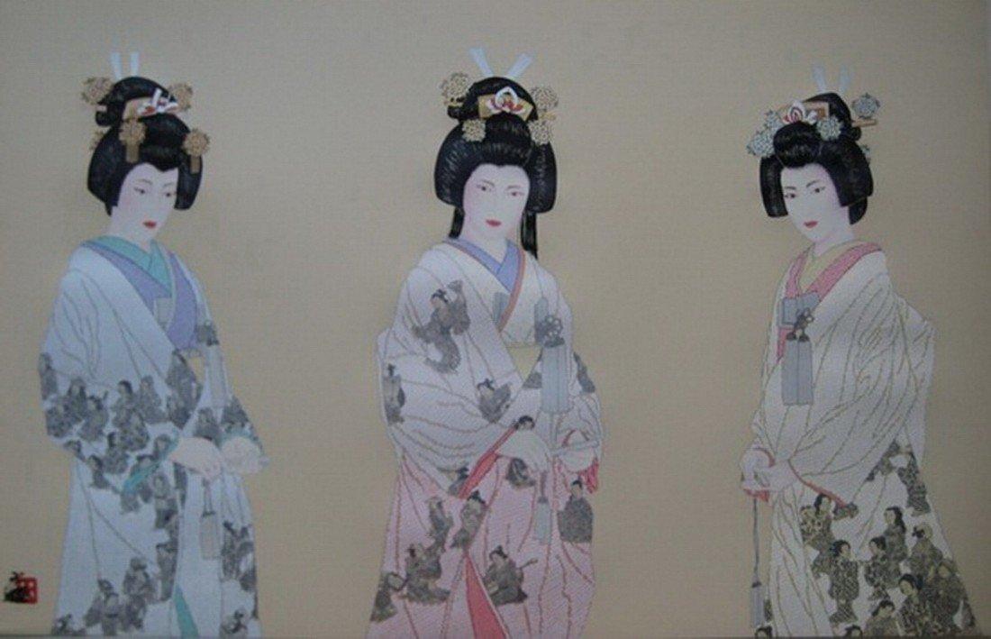 3T: HISASHI OTSUKA THE THREE ETERNAL BRIDES HAND SIGNED