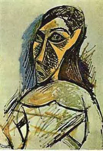 3T: #131 PORTRAIT OF A WOMAN PICASSO ESTATE SIGNED GI