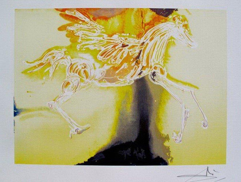 2T: Salvador Dali Dalinean Horse PEGASUS Limited Ed. Li