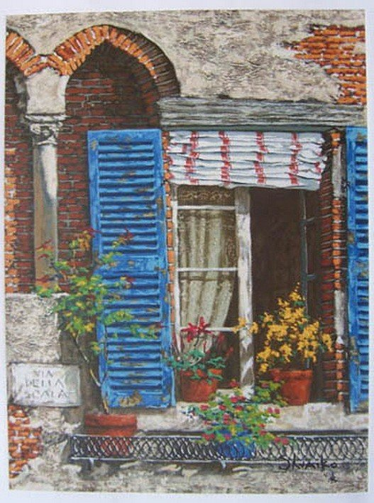 10T: VIKTOR SHVAIKO WINDOWS OF ITALY LIMITED ED. HAND