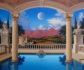 JIM BUCKELS VILLA VISCONTI HAND SIGNED LIMITED ED