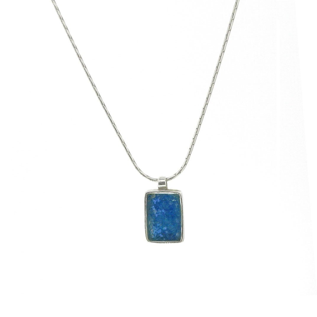 881F: A SMALLER ROMAN GLASS NECKLACE