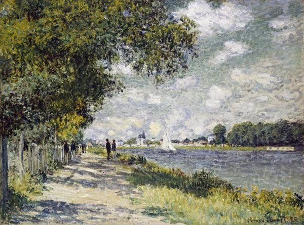 "11G: CLAUDE MONET  ""THE SEINE AT ARGENTEUIL"""