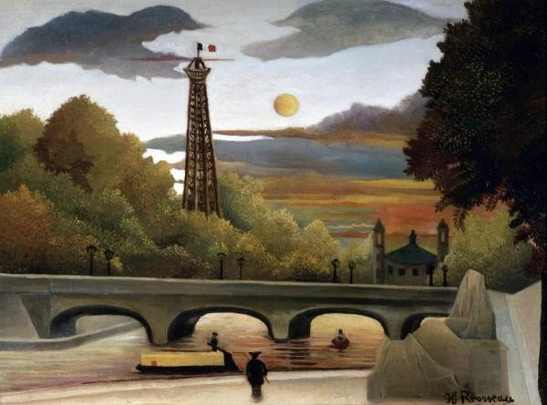 "26G: HENRI ROUSSEAU  ""THE EIFFEL TOWER"""