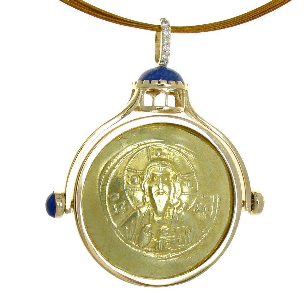 449F: HAGIA  SOPHIA  PENDANT  WITH  10TH  CENTURY  BYZA